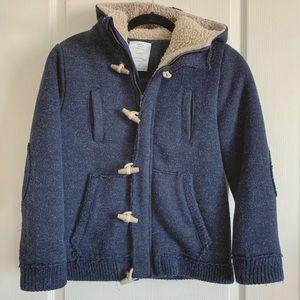 Zara Jackets & Coats - Boy's Zara Wool Hoodie Jacket